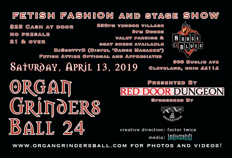 Organ Grinders Ball 24!